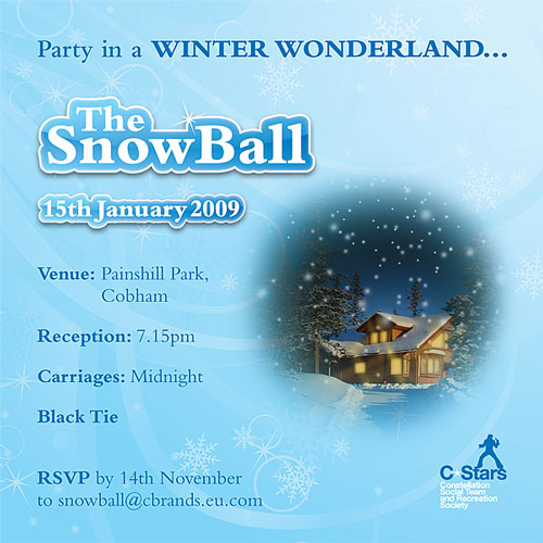Constellation Europe: Snowball Invite (back)