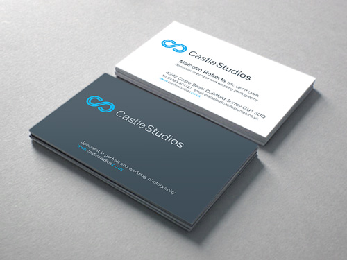 Castle Studios: Business Card Design