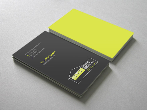 Essential Property Maintenance: Business Card Design