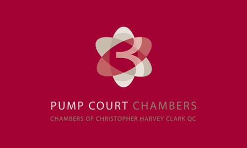 Pump Court Chambers: Logo Design