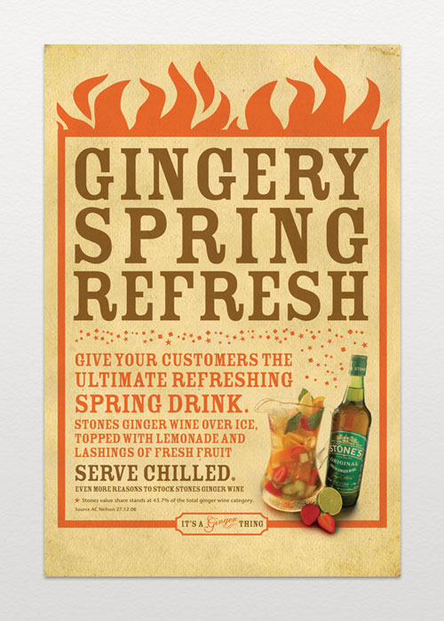 Stone's Original: Ginger Wine Advert